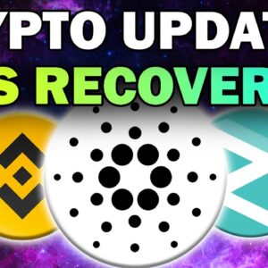 HUGE Crypto News: Altcoins Recover for Bullish Move! (Crypto Super Cycle 2021)