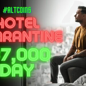 $37,000 Day Trading The Best Altcoins In Quarantine! Here's How
