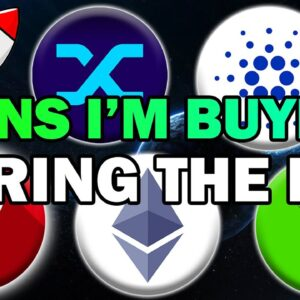 EXACT ALTCOINS I'm Buying During the Dip! (BEST Chance at INSANE Wealth 2021)