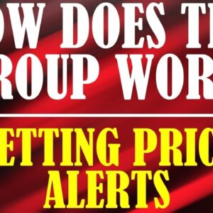 How does this group work? -  Setting Price Alerts - Team Up to Watch Past Setups
