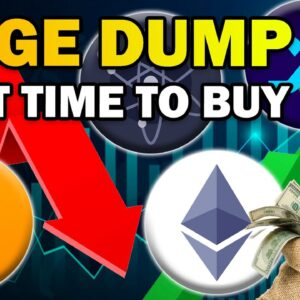 HUGE Bitcoin and Altcoin DUMP (Best Buying Opportunity EVER)