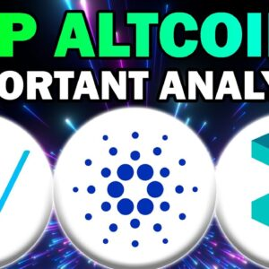 HUGE CRYPTO AND ALTCOIN NEWS!! Cardano, Zilliqa and VeChain (Top Altcoins 2021)