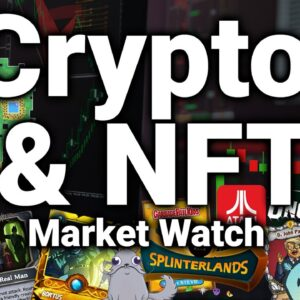 Crypto & NFT Market Watch w/ Kenn Bosak (NBA Top Shots, Bitcoin Origins, Enjin, WAX)