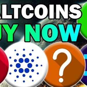 5 ALTCOINS I'm Buying During the Dip (These Coins Will PUMP SOON)