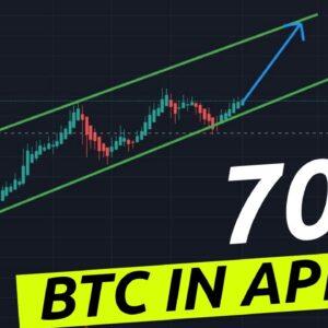 Bitcoin On The Move In April Lets Go!!! 70k 80k 100k