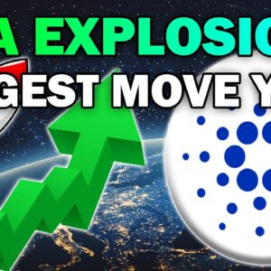 Why CARDANO is About to Make it's BIGGEST MOVE YET (ADA Price EXPLOSION 2021)