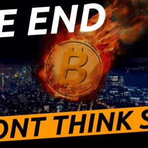 Its Over Lets Panic | Bitcoin Was A Bubble | Or Its Not Over Unit The Fat Lady Sings
