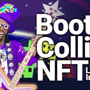 Funk Music Legend Bootsy Collins X CryptoStache NFT drop & interview