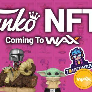 Funko Pops NFTs Coming To WAX Blockchain