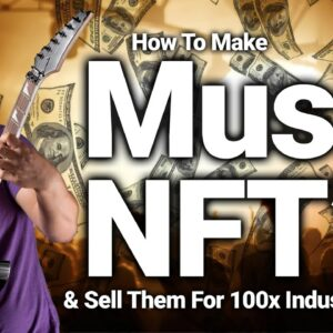 Sell Your Music For 100x Industry Standards On Phantasma