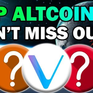 TOP Bitcoin and ALTCOIN ANALYSIS!! BEST CRYPTO QUESTIONS ANSWERED (Don't Miss the HUGE GAINS)
