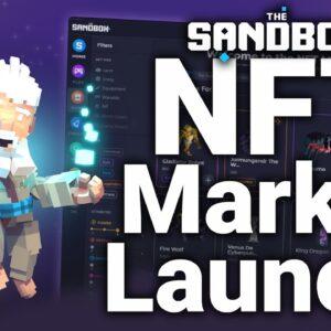 The Sandbox Game NFT Marketplace Launch (Get Rare NFTs)