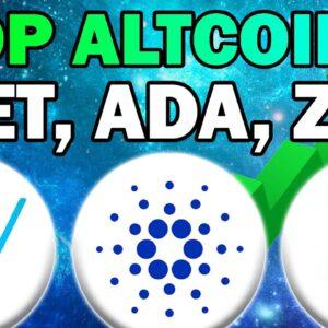 My Top Altcoins: VeChain, Zilliqa, Cardano (VET, ZIL, ADA Price Prediction 2021)