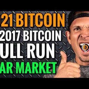 2021 Bitcoin Bull Run vs 2017 Bitcoin Crash