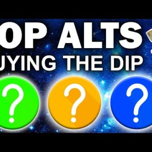 TOP 3 Hot Altcoins I Am Buying RIGHT NOW IN THE CRASH! (Crypto Bull Run 2021)