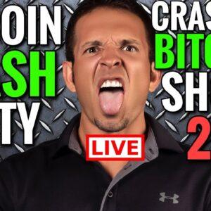 Bitcoin Crashing Live: Crypto News Live