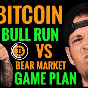Bitcoin Live: Bull Run vs Bear Market Game Plan
