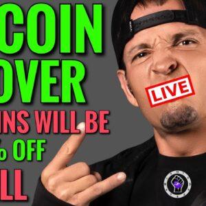 Bitcoin Live: Is Altcoin Season 2021 Over