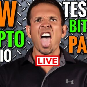 Bitcoin Live: YouTube Crypto Studio Testing
