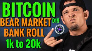 Bitcoin News Today Bear Market Bank Roll vs 2021 Bull Run