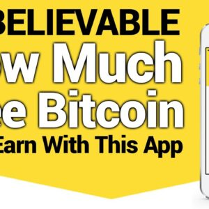Unbelievable How Much Free Bitcoin I Can Earn With This App (Cryptocurrency Passive Income)