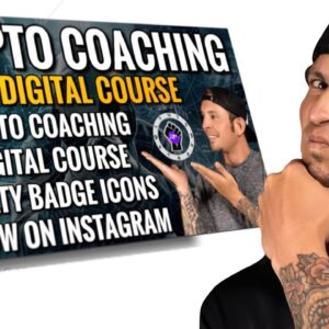 Crypto Coaching Digital Course   RYAN MATTA