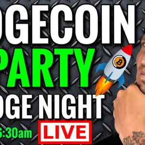 Dogecoin Price Predictions: Doge Party Live