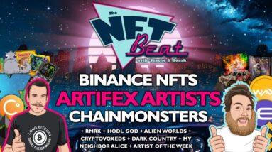 The NFT Beat - Binance NFT Marketplace, NBA Top Shot, Artifex, RMRK, Alien Worlds