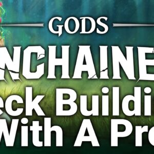 Gods Unchained - How To Build Decks Tutorial & Strategy With A Top Player