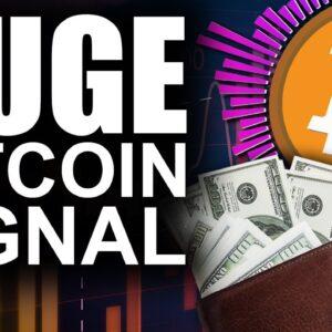 HUGE Bitcoin BUY Signal Flashes (Top Reason Experts LOVE BTC)