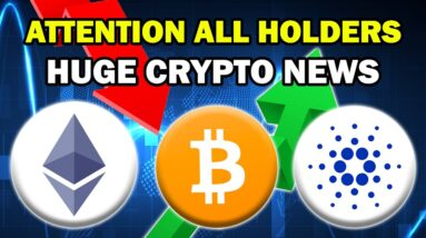 BULLISH CRYPTO NEWS FOR ALTCOIN HOLDERS!! | ETH, ADA + MORE (Life Changing Gains Ahead 2021)