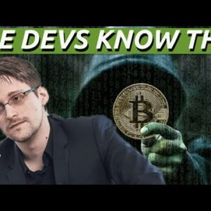 Snowden Says Bitcoin Needs To Be Fixed Its Broken