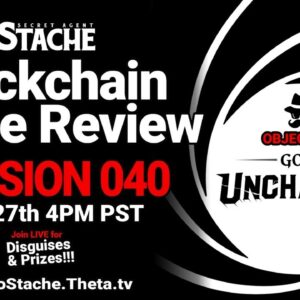 Secret Agent 'Stache - Mission 040: Gods Unchained (Magic The Gathering style TCG w/ NFTs)
