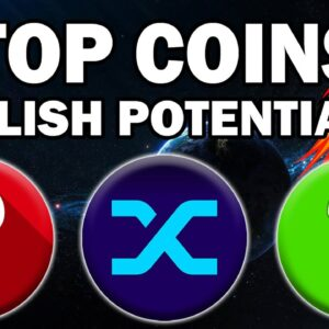 These 3 Altcoins Have HUGE BULLISH POTENTIAL (Best Crypto Coins 2021)