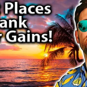 Top 10 Countries To BANK Crypto Gains!! 🌎