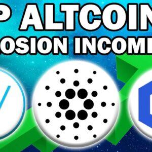 Top Altcoins Ready To EXPLODE!! (ADA, VET, LINK Bullish Analysis)