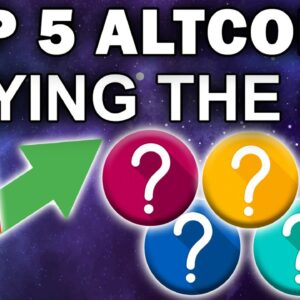 URGENT! TOP 5 ALTCOINS TO BUY DURING THE DIP!