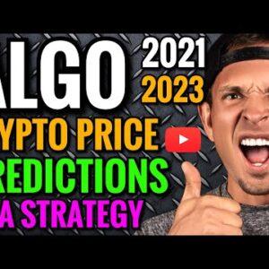 ALGO PRICE PREDICTIONS 2021: CRYPTOCURRENCY NEWS TODAY