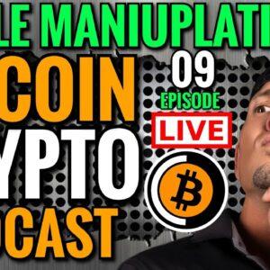 BITCOIN NEWS LIVE: STOCK MARKET CRASHING ETHEREUM PRICE: CRYPTO PODCAST Episode 9