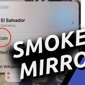 Scared For El Salvador | Bitcoin Adoption | Price Is Being Held Down For A Reason