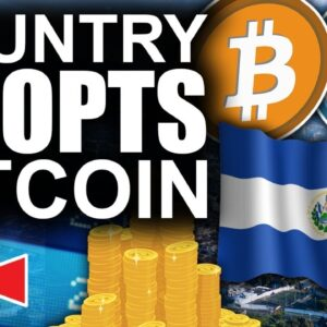 Greatest Bitcoin News Of 2021!! (Country Adoption Imminent)
