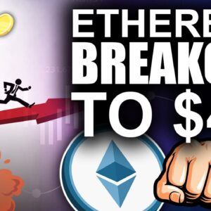 Imminent Ethereum BREAKOUT to $4k (Market Double Top Coming?)