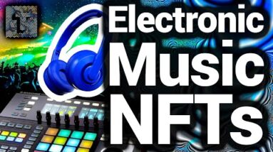 Make Electronic Music NFTs With Built In Trippy Visual Editor
