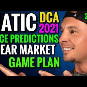 Matic Price Predictions 2021 Crypto Bear Market Strategy
