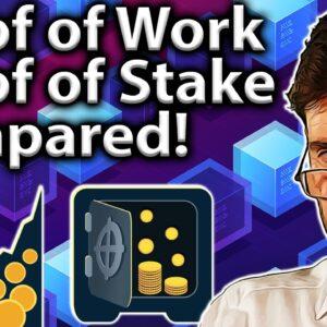 Proof of Work vs. Proof of Stake: Beginner's Guide!! 👨🏫