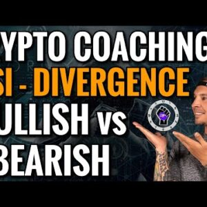 THE BEST INDICATOR FOR TRADING CRYPTO: RSI DIVERGENCE TUTORIAL