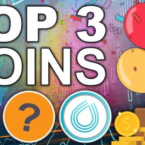 TOP 3 Coins We're Buying RIGHT NOW (BEST TA in Crypto)