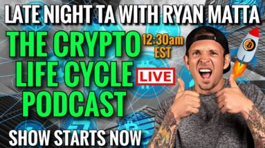 Bitcoin Live. Cryptocurrency News Today. The Crypto Life Cycle Podcast Episode1