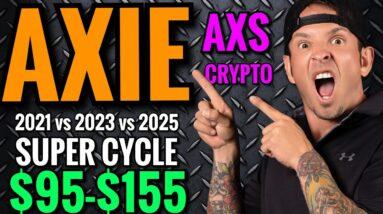 AXIE PRICE PREDICTIONS 2021  AXS CRYPTO NEWS TODAY