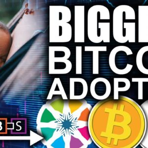 Biggest Bitcoin Adoption Revealed! (Do Or Die For Tech Giants)